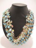 1960's Large crystal and Murano style glass necklace.**SOLD**